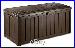 Patio X Large Weatherproof Outdoor Garden Chest Plastic Storage Box Garden Boxes