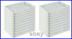Pizza dough storage plastic container eco 20 stacking box Gastlando