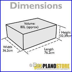 Plano Medium Military Storage Trunk Box Footlocker Olive Green Pack of Three