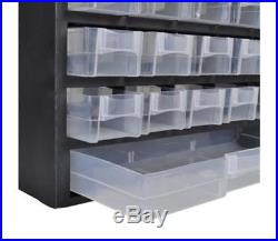 Plastic 41 Compartment Organiser, box storage, nails screws craft DIY parts bins