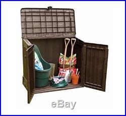 Plastic Storage Box All Weather Shed Patio Garden Bike Outdoor Wheelie Bins Bbq