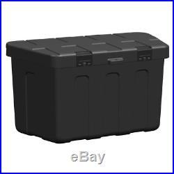 ProPlus Drawbar Storage Box Plastic 320 x 630 x 355 mm 340061 for Trailer
