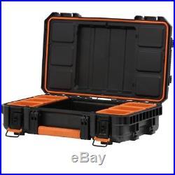 RIDGID Pro Tool Storage Cart, Organizer Stack, 3 Tool Box Workshop Combo Set
