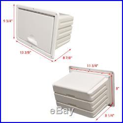 SSI Boat Tackle Storage Box 45300000 Stratos 385 XF White Plastic