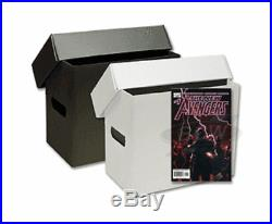 Short Comic Storage Box Plastic -Set of 10