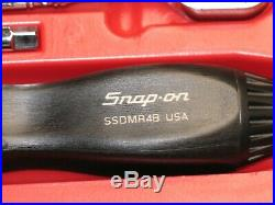 Snap On 1/4 Drive Metric 31 Piece 6-point Socket Set In Red Plastic Storage Box