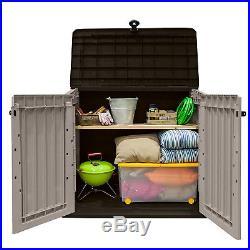 Storage Box Plastic Garden Large Bin Outdoor Patio Furniture Container Keter NEW