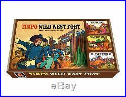 TIMPO WILD WEST FORT WORTH withFIGURES & XL CUSTOM STORAGE BOX