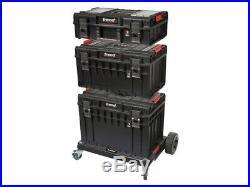 Trend MS/P/SET4P Modular Storage Pro Platform Set 4pc Tool Box System Waterproof