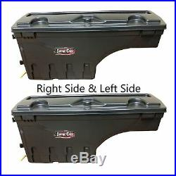 Undercover SC100D/SC100P Set of 2 Truck Bed Storage Boxes for Silverado 1500