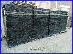 Used Strong Grey Industrial Plastic Eurobox Containers Storage Boxes Box Crates