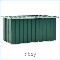 VidaXL Garden Storage Box Green Outdoor Furniture Patio Cushion Deck Chest