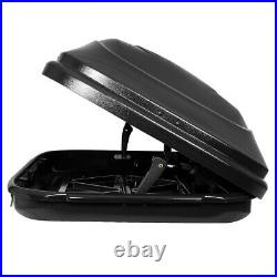 WATERPROOF VEHICLE TOP HARD CARGO CARRIER ROOF MOUNT TRAVEL STORAGE BOX With LOCK