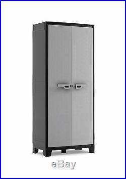 Water Resistant Multispace Plastic Cupboard Garden Storage Box Outdoor Locker